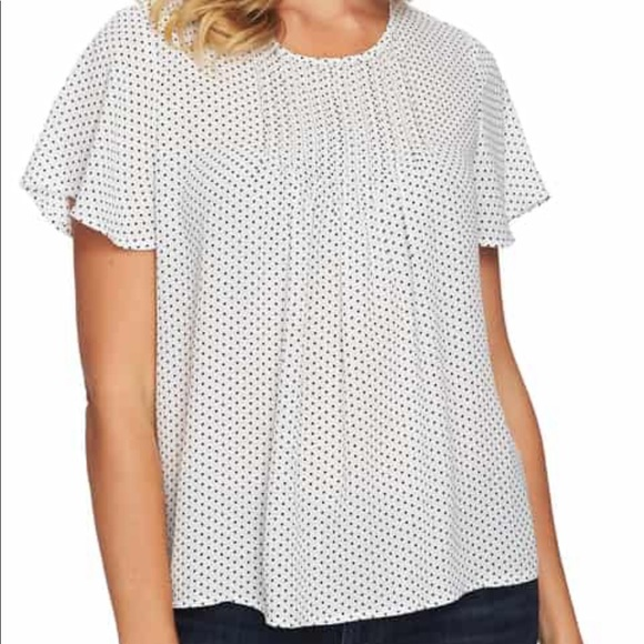 CeCe Tops - DONATING 5/13**** Pleat Blouse